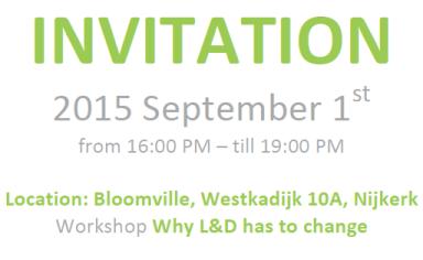 Invitation Workshop Donald H. Taylor