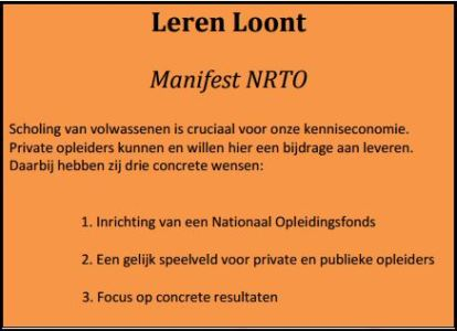 Manifest NRTO 2015