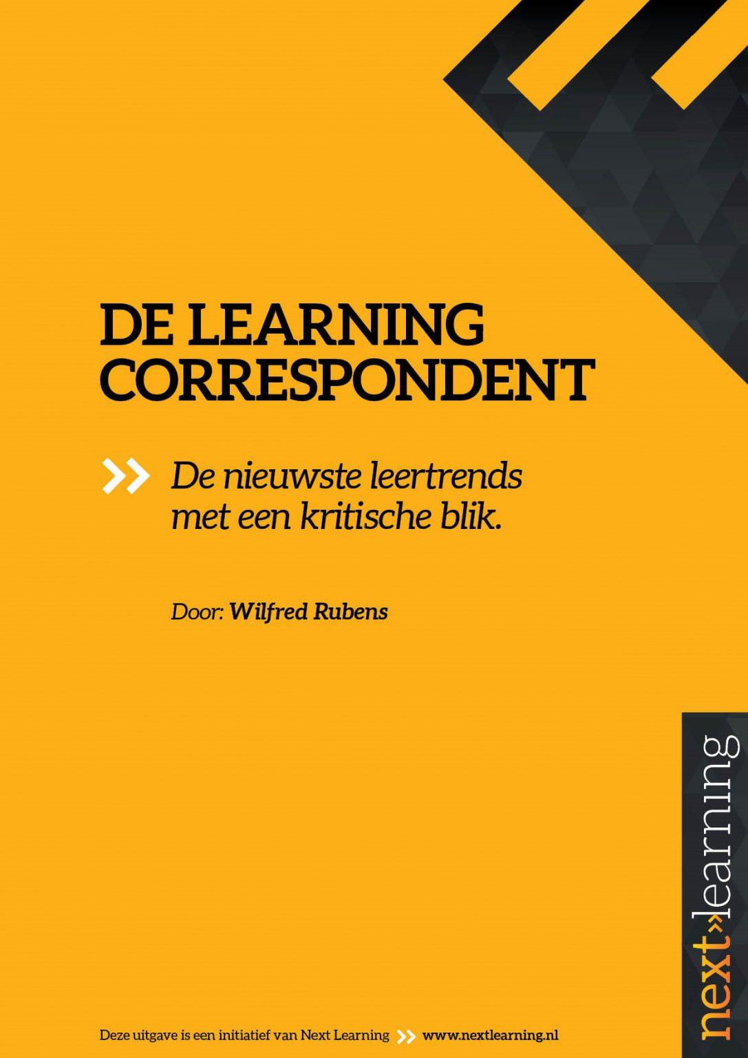 Beveiligd: De Learning Correspondent nr.36
