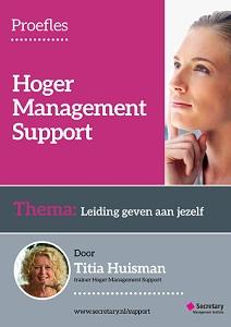 Proefles Hoger Management Support