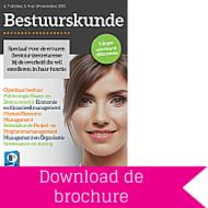 Download brochure Bestuurskunde