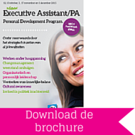 Download brochure Executive Assistant