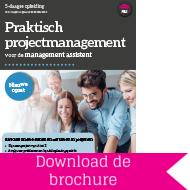 Opleiding projectmanagement voor de management assistant