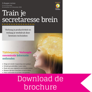 Download brochure Train je secretaresse brein