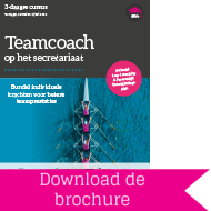 Opleiding Teamcoach Secretariaat