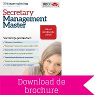 Download brochure Secretary Management Master
