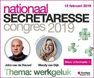 Nationaal Secretaresse Congres 2019