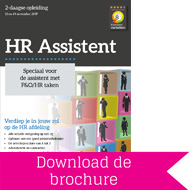 Cursus HR Assistant - download brochure