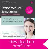 Download brochure Senior medisch secretaresse