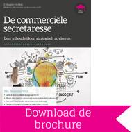 Brochure Commerciële Secretaresse