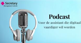 Podcast voor assistants -digitaal werken