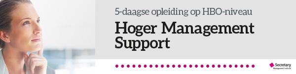 Opleiding Hoger Management Support