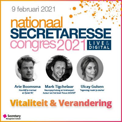 Nationaal Secretaresse Congres 2021