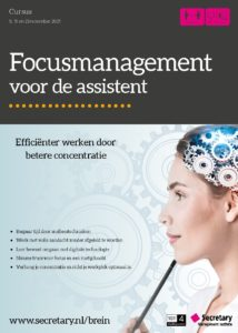 Cursus Focusmanagement voor de assistant