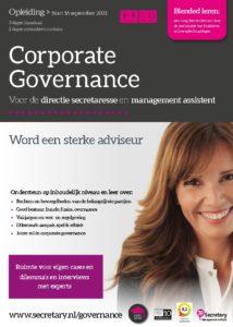 Opleiding Corporate Governance voor de management assistant
