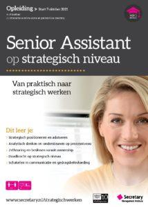 Opleiding Senior Assistant op strategisch niveau