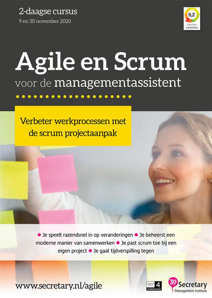 Cursus Agile en Scrum voor secretaresses
