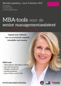Opleiding MBA-tools voor de senior managementassistent