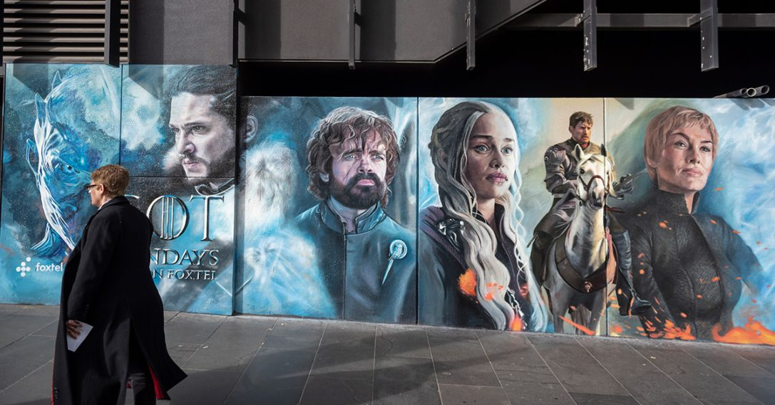 HBO creëert extra buzz rondom Game of Thrones met AR