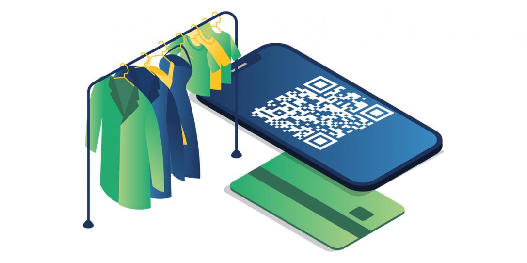 Betalen in de kleding industrie anno 2021: frictieloos, veilig en contactloos