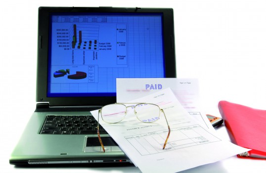 laptop financieel