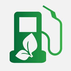 Groene energie auto